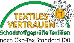 Logo des Öko-Tex 100 Standards