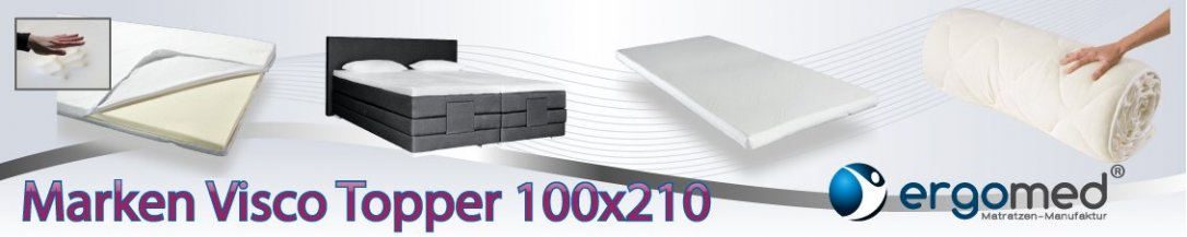 Visco Topper 100x210